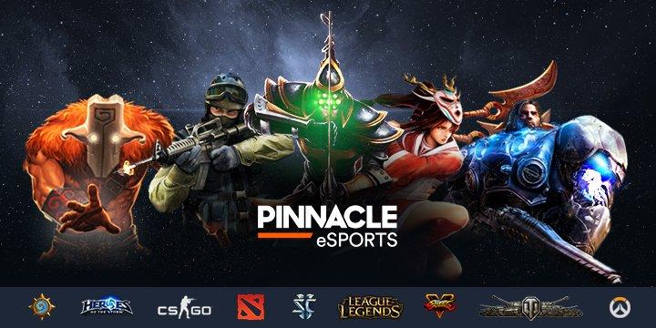 Legjobb eSportfogadó oldalak, esport fogadó oldal Pinnacle